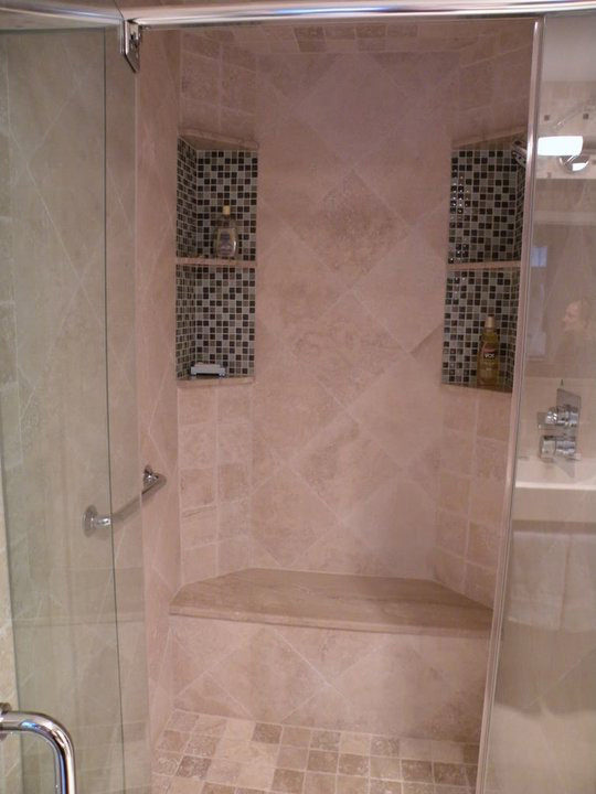 shower stall tub insert. Bathroom Tile  Mosaic Glass Inserts Shower Mosaics Fuda