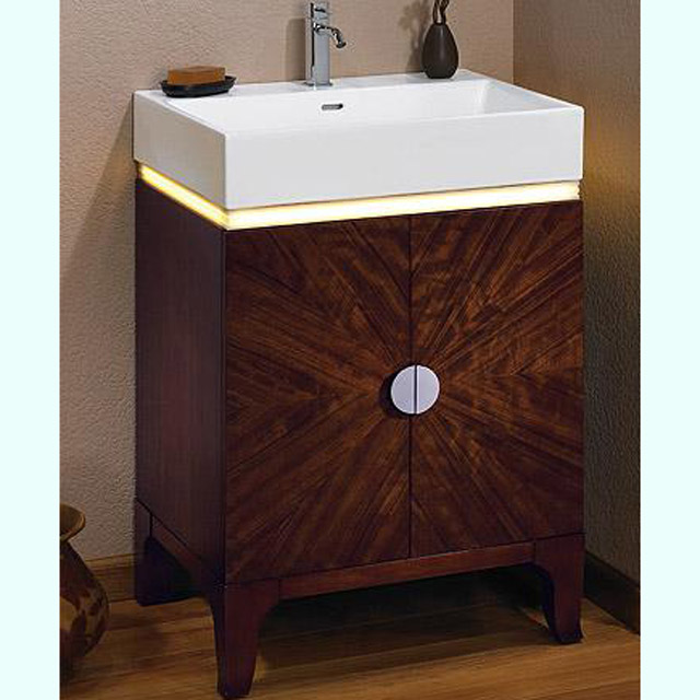 Bathroom Vanities Half Moon Vanity With Led Fuda Tile