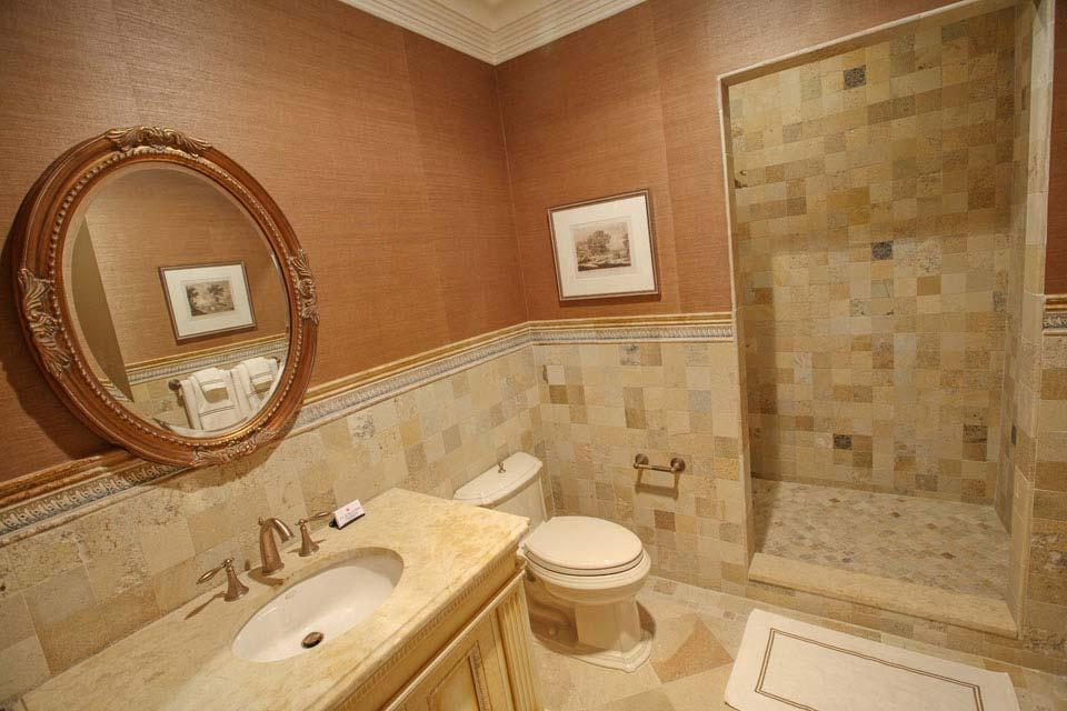 Glass Ceramic Marble Mosaic Bathroom Tile Fuda NJ