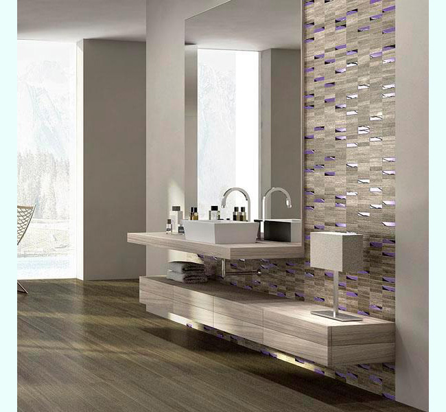Wooden Bathroom Tiles: Floor Tile Gallery