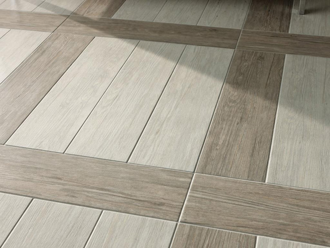 Wood Tile Flooring In Bathroom Val Grigio Floor Tile Wood